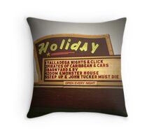 Reo, IN Throw Pillow