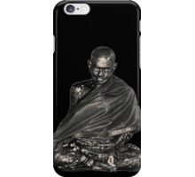 Golden Buddha statue V2 iPhone Case/Skin