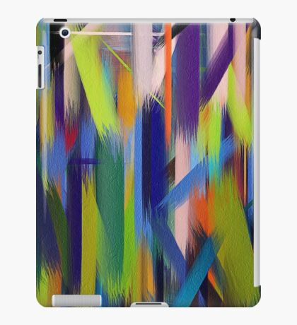 Paint Color Splatter Brush Stroke #4 iPad Case/Skin
