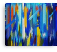 Paint Color Splatter Brush Stroke #5 Canvas Print