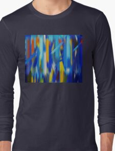 Paint Color Splatter Brush Stroke #5 Long Sleeve T-Shirt