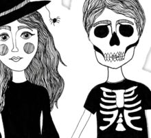 Forever Halloween - The Maine Design Sticker