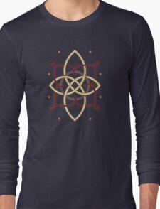 Ostara Tarot Card Design 1 Long Sleeve T-Shirt