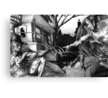 The Creation of Freddy Canvas Print