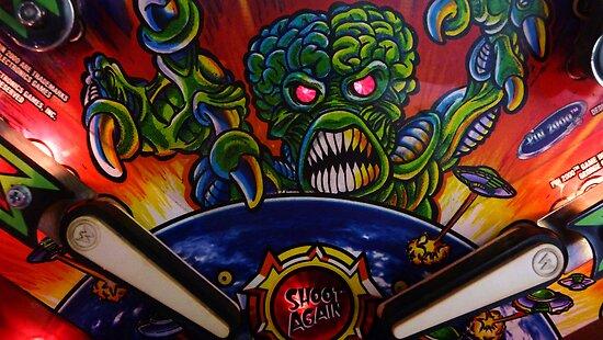 Monster Pinball by Adria Bryant