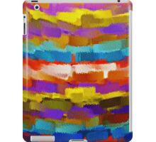 Abstract Paint Color Splatter Brush Stroke #4 iPad Case/Skin