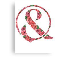 Of Mice & Men Floral Logo  Canvas Print