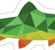 Trout Fish Sticker