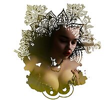 Moxie Exhibitionist  Photographic Print