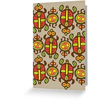 Fabulous Turtles Greeting Card