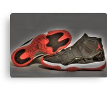 1995 O.G Nike Air Jordan XI Canvas Print