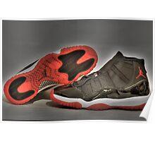 1995 O.G Nike Air Jordan XI Poster