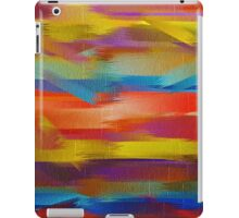 Abstract Paint Color Splatter Brush Stroke #5 iPad Case/Skin