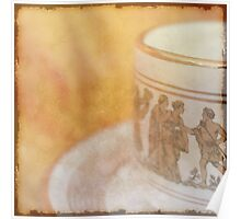 Greek Coffee  - JUSTART ©  Poster