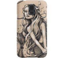 Mermaid with Rope Samsung Galaxy Case/Skin
