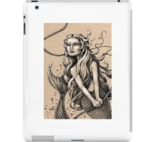 Mermaid with Rope iPad Case/Skin