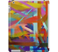 Paint Color Splatter Brush Stroke #6 iPad Case/Skin