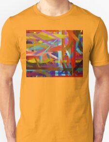 Paint Color Splatter Brush Stroke #6 T-Shirt