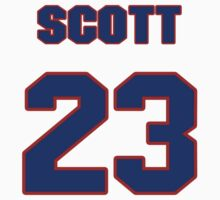 Basketball player Scott Burrell jersey 23 by imsport