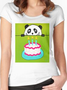 Now It's A Party! Women's Fitted Scoop T-Shirt