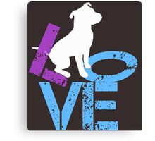 Love for Dogs Canvas Print