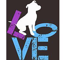 Love for Dogs Photographic Print