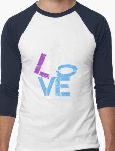 Love for Dogs Men's Baseball ¾ T-Shirt