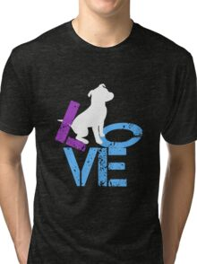 Love for Dogs Tri-blend T-Shirt