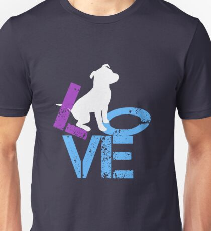 Love for Dogs Unisex T-Shirt