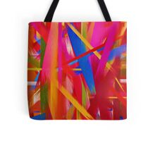 Paint Color Splatter Brush Stroke #8 Tote Bag