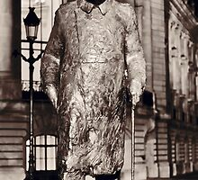Sir Winston Churchill statue at Petite Palais in Paris by yeamanphoto