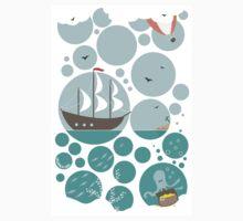 Sea Life! t-shirt by oksancia