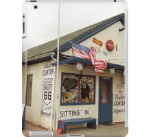 Route 66 - Angel's Barber Shop iPad Case/Skin
