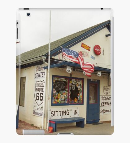 Route 66 - Angel's Barber Shop iPad Case/Skin