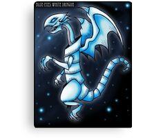 The Blue-Eyes White Dragon Canvas Print