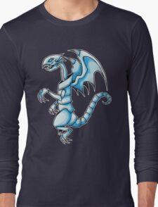 The Blue-Eyes White Dragon Long Sleeve T-Shirt