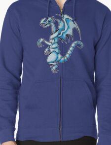 The Blue-Eyes White Dragon Zipped Hoodie
