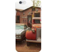 Route 66 - Snow Cap Drive-In iPhone Case/Skin
