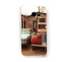 Route 66 - Snow Cap Drive-In Samsung Galaxy Case/Skin