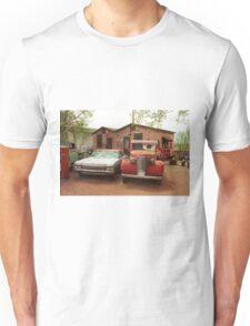 Route 66 - Snow Cap Drive-In Unisex T-Shirt