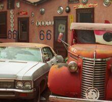 Route 66 - Snow Cap Drive-In Sticker