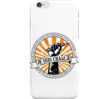 Je Suis Charlie iPhone Case/Skin