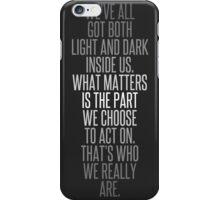 Light and Dark iPhone Case/Skin