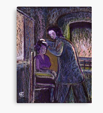 The phrenologist Canvas Print