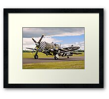 Razorback Snafu Jugging Along Framed Print