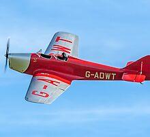 Miles M.2W Hawk Trainer G-ADWT by Colin Smedley