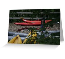 Transportation at Ohiopyle Pennsylvania Greeting Card