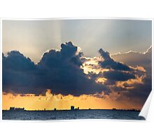Rays over Biloxi Poster
