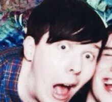 Phan Cute Drunk Selfie Sticker