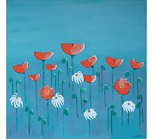 Poppies by GloriaDK